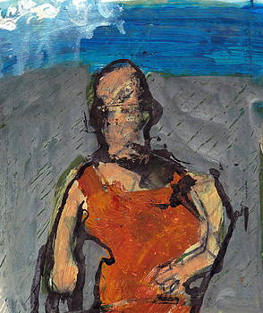 Woman In Landscape by JC Armbruster
