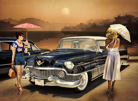 Women Love The Cadillac Philosophy by Rat Rod Studios
