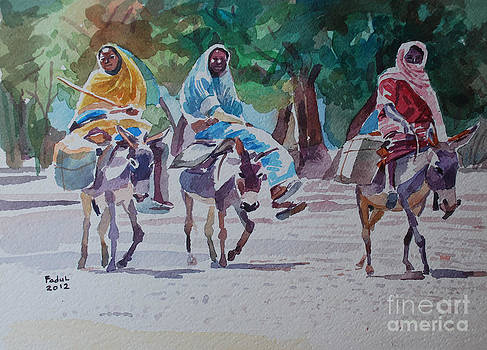 Women of Darfur by Mohamed Fadul