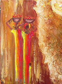 Women Selling by Marietjie Henning