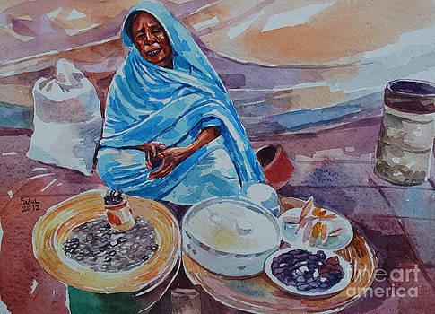 Women's market by Mohamed Fadul