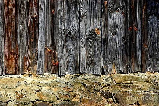 Wood and Stone Foundation Civil War by Curtis Brackett