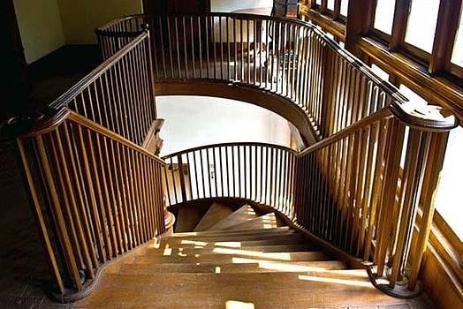 Wooddenn Staircase by Nevis Jayakumar