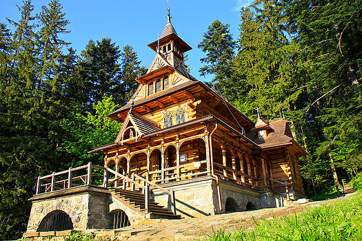 Kamil Swiatek - Wooden Chapel 1