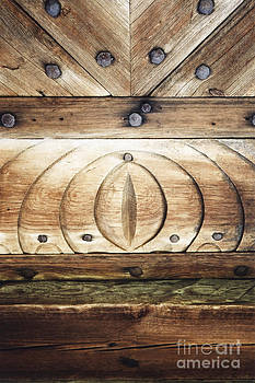 Wooden Doors Detail by Agnieszka Kubica