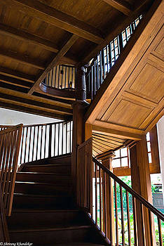 Wooden Staircase1 by Nevis Jayakumar