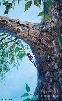 Woody Woodpecker by Judy Groves