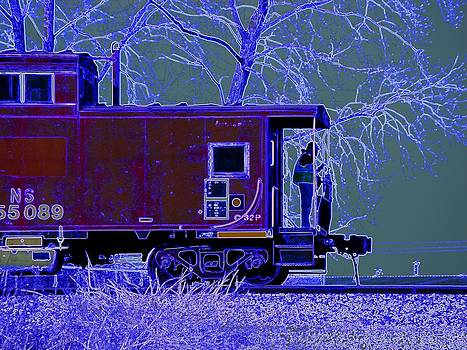 Working Caboose by J R Seymour