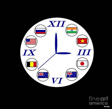 World Clock by Cherryl Fernandez