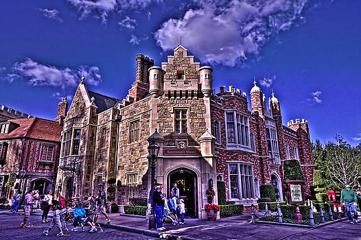 World Showcase England HDR by Jason Blalock