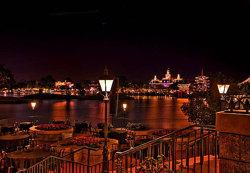 World Showcase HDR by Jason Blalock