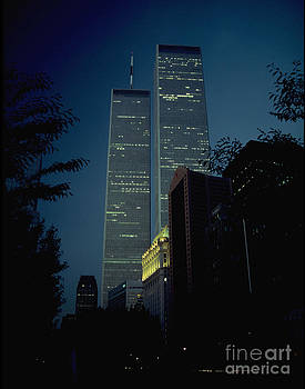 Mark Gilman - World Trade Center At Dusk