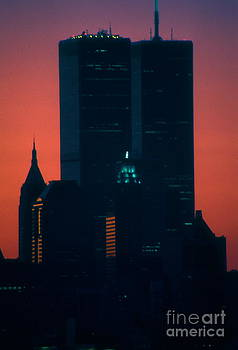 Mark Gilman - World Trade Center At Sunset