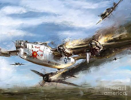 World war 2 B-24 Flak shak by Ondrej Soukup