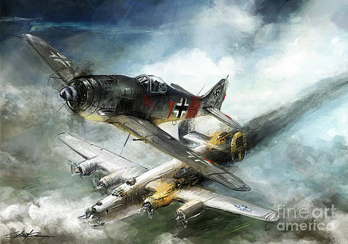 world war 2 FW-190 Rauhbautz VII by Ondrej Soukup