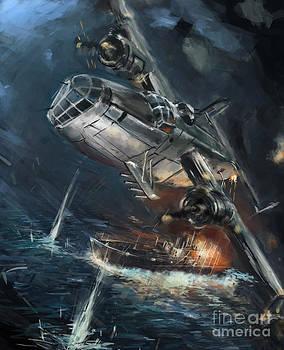 world war 2 Hunt for Alsterufer by Ondrej Soukup