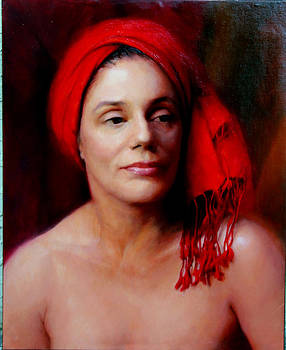 Wrapsody in Red by Mary Jo Johnson