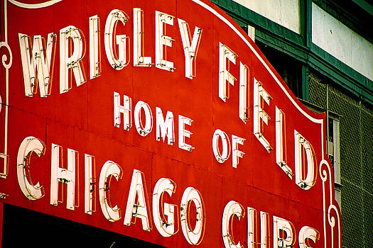Wrigley Field by Claude Taylor