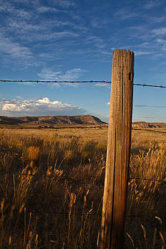 Wyoming Fence by Mark Gilmore