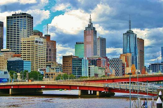 Kelly Nicodemus-Miller - Yarra River City View