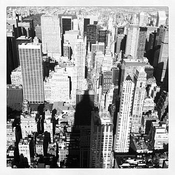 Yeah This Is Pretty High. #ny by Andres Cruz