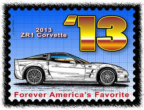 Year-By-Year 2013 ZR1 Corvette by K Scott Teeters