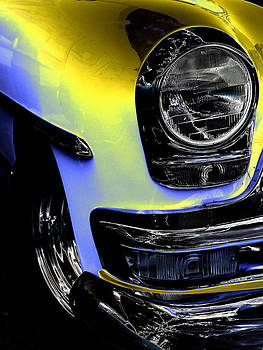 Yellow Chrysler by John Monteath