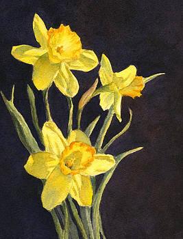 Yellow Daffs by Vikki Bouffard