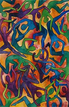 Yellow Dance by Jen Coffey