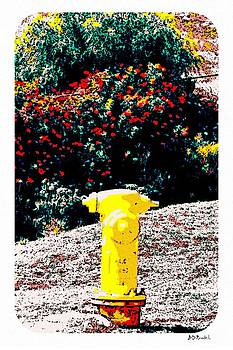 Yellow Fire Hydrant Comics by Brian D Meredith