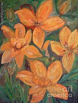 Yellow flowers by Ilona Pincse