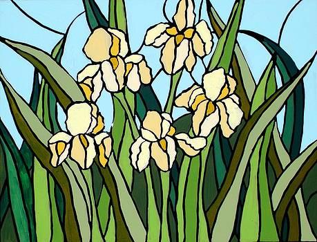 Yellow Iris by JW DeBrock