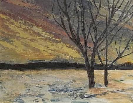 Yellow Sky by Linda Bautz McKenna