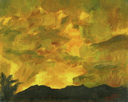 Yellow Sky by Sylvia Riggs