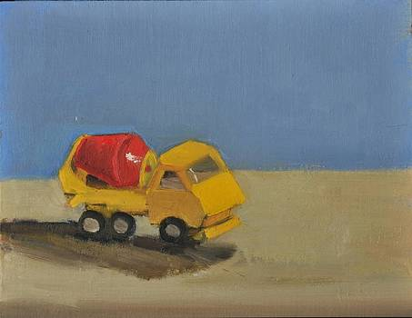 Yellow Toy Truck by Joyce Colburn