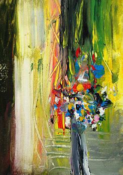 Tonya Schultz - Yellow Wall