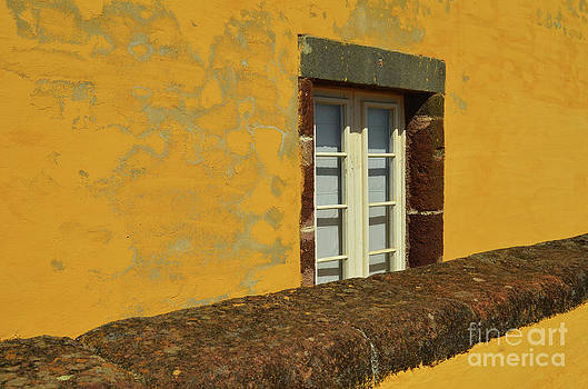 Yellow window Yellow by Jeremiah Welsh
