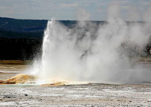 Yellowstone Geyser by Jonathan Schreiber