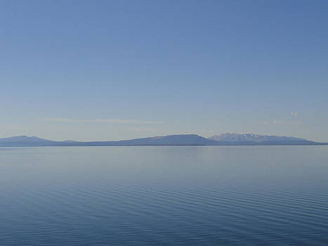 Yellowstone Lake by Melissa Limoges