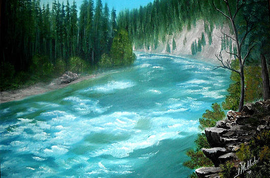 Yellowstone River by Jimmy McAlister