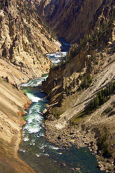 Yellowstone River by Susan Morris
