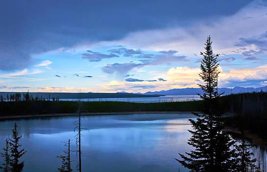 Yellowstone September Sunset by Jeff Almquist