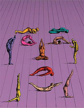 Yoga by Janusz Kapusta
