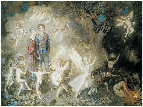 John Duncan - Yorinda and Yoringel in the Witche