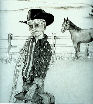 Young Cowboy by Carolyn Ardolino