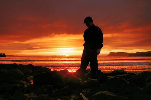 Young dawn at Ballycastle by David McFarland