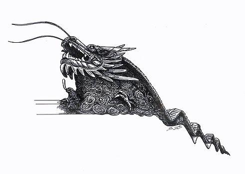 YuYang Garden Dragon by Sue Pownall