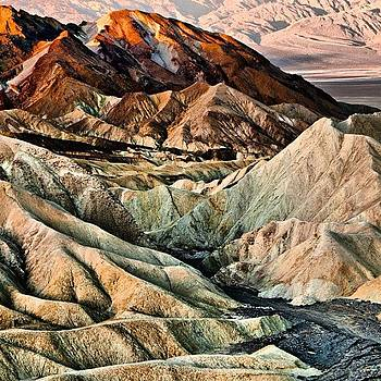 Zabriskie Point by Felice Willat