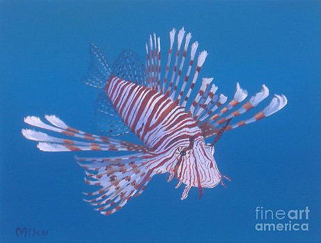 Zebra Lionfish by Michael Allen