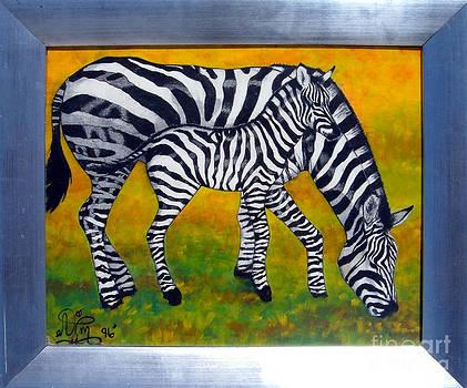 Zebras by Annette Jimerson